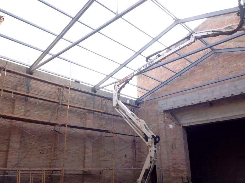 Instal·lació Coberta Teatre Nou